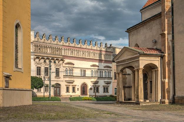 Rákociho palác, sídlo Krajského múzea v Prešove