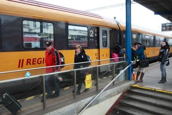 RegioJet svoj posledný vlak z Bratislavy vypraví koncom januára.