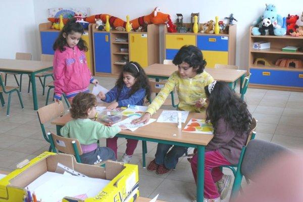 Deti v komunitnom centre.