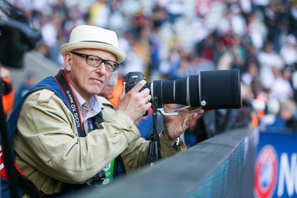 Ladislav Perényi je jedným z najlepších športových fotografov.