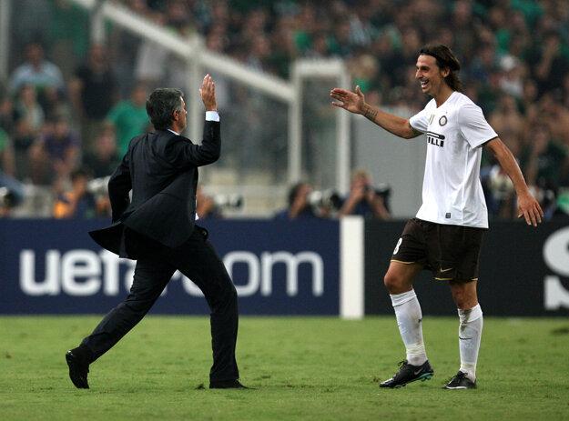 Ibrahimovič spolupracoval s Mourinhom už v Interi Miláno.