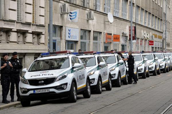Polícia sa na zmeny v doprave pripravovala cvičením.