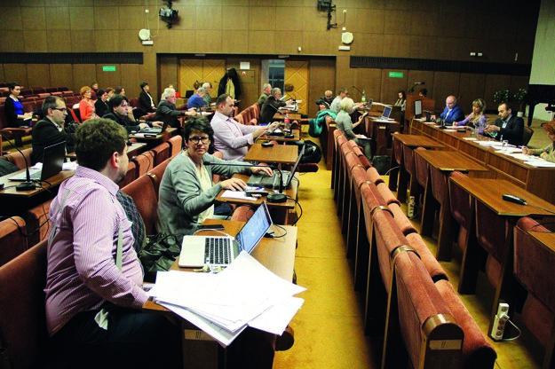 Aj v Šali sú poslanci platení paušálne, suma je však nižšia.