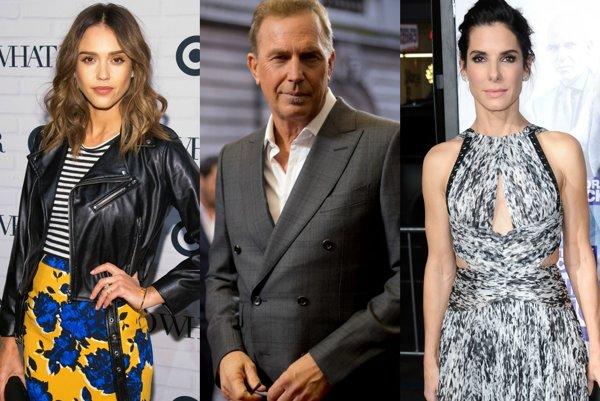 Jessica Alba, Kevin Costner, Sandra Bullock