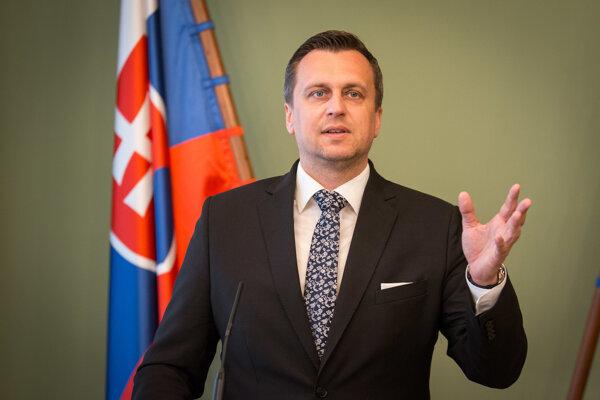 Predseda Národnej rady SR Andrej Danko.