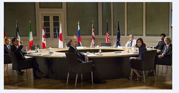 Na rokovaní G8.