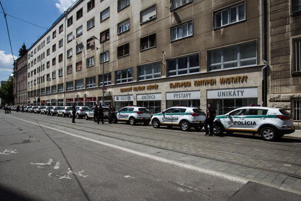 Akcie počas slovenského predsedníctva v Rade EÚ sprevádzajú rozsiahle bezpečnostné opatrenia.