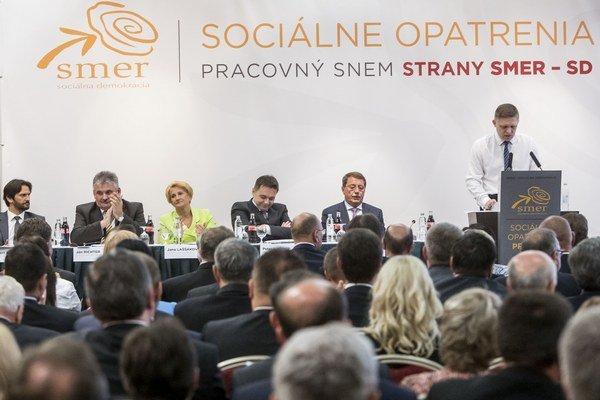 Sociálny balíček predstavila vládna strana v sobotu na pracovnom sneme.