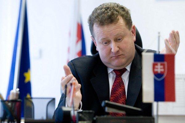 Predseda Úradu pre reguláciu sieťových odvetví Jozef Holjenčík.