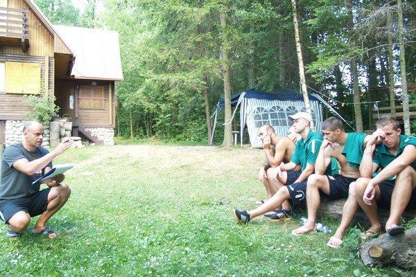 Sústredenie pri Oravskej priehrade.