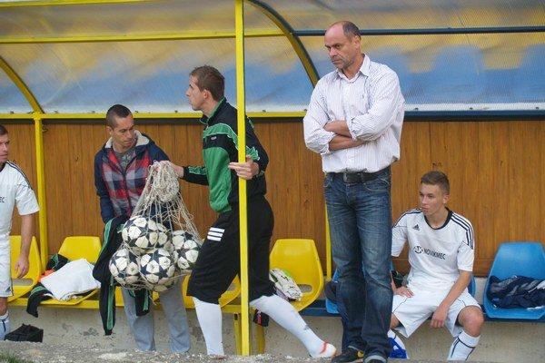 Kouč MFK Vranov Miroslav Jantek.