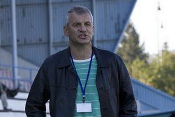 Tréner Jozef Valkučák.