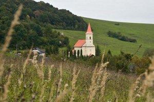 Rímskokatolícky kostol v Ondavských Matiašovciach.