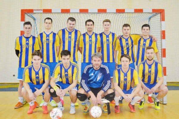 Mužstvo BNP Vranov nad Topľou. Kraľuje 2. mestskej futsalovej lige v Humennom.