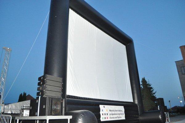 Obľúbené letné kino bude vo Vranove aj v tomto roku.