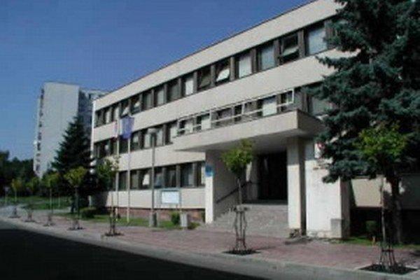 Mestský úrad vo Vranove nad Topľou.