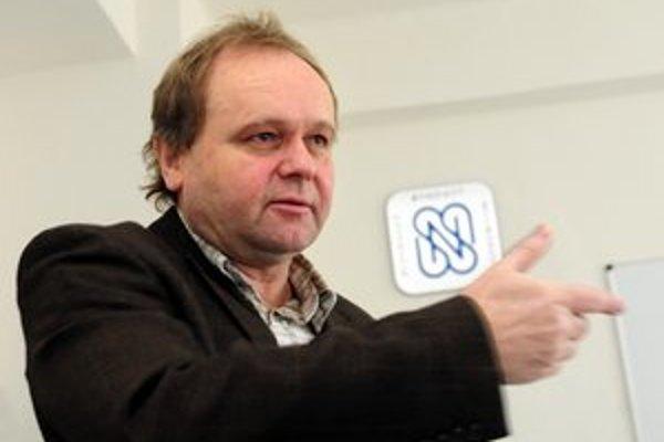 Odborársky predák Jozef Balica.