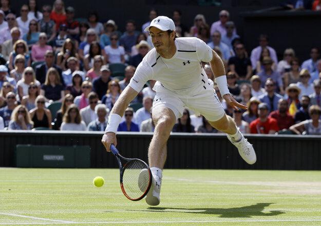 Murray dokáže vrátiť takmer všetko.