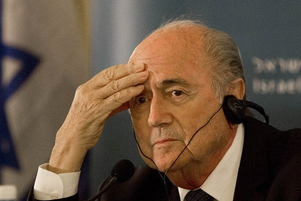 Švajčiar Sepp Blatter.