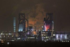 Oceliareň koncernu ThyssenKrupp v Duisburgu.