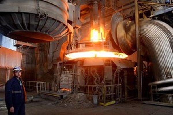 Tavenie ocele v Strážskom sa znovu zastavilo.