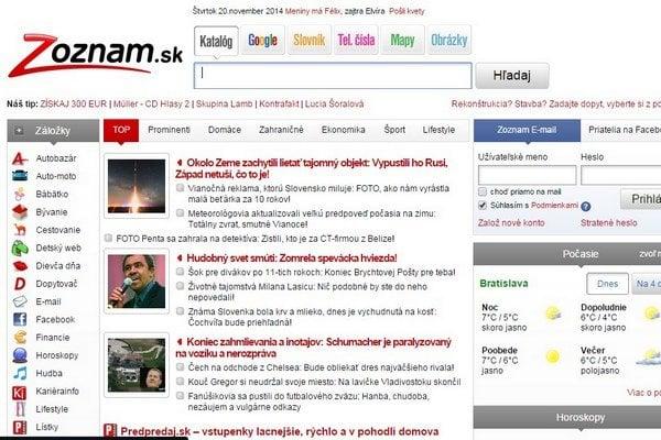 Zoznam je druhým najnavštevovanejším webom na Slovensku.