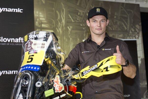 Štefan Svitko bol v sobotu najrýchlejší.