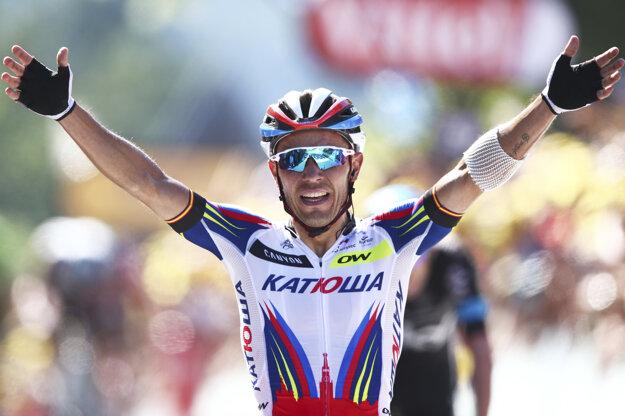 V roku 2013 bol na Tour de France celkovo tretí.