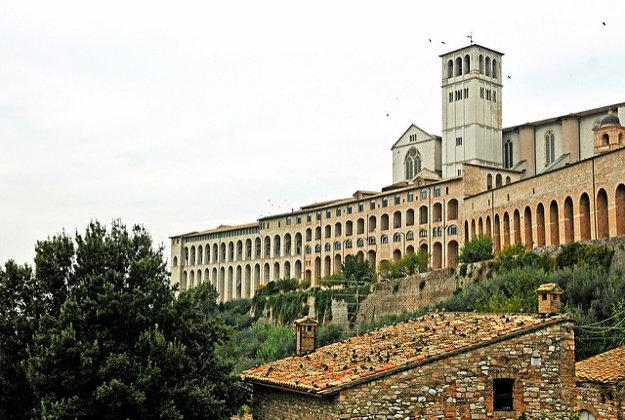 Bazilika sv. Františka, Assisi.