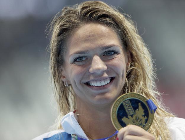 Julia Jefimovová je zlatou medailistkou z minuloročných majstrovstiev sveta v ruskej Kazani.