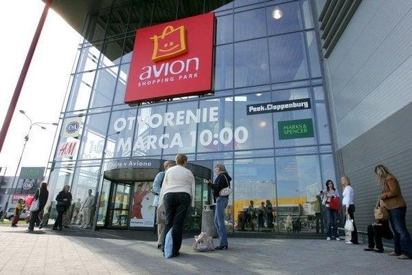 Jediné nákupné centrum Avion u nás je zatiaľ v Bratislave.