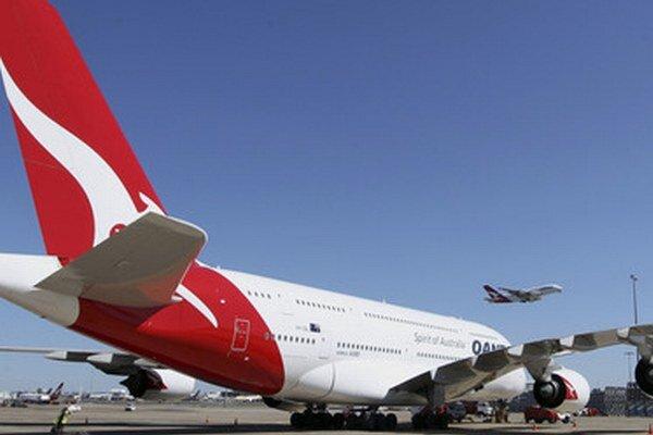 Lietadlo spoločnosti Qantas