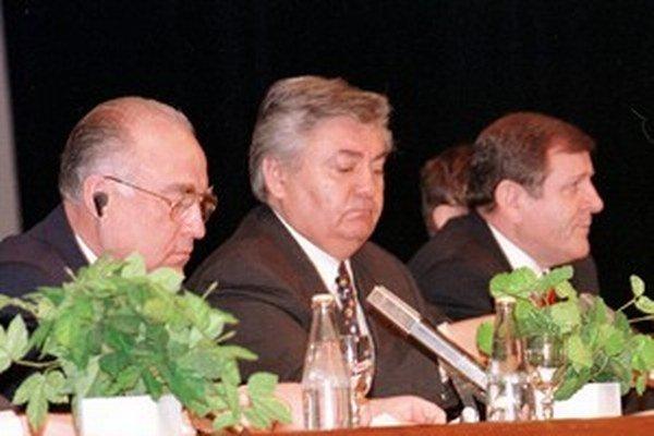 Ján Ducký s Vladimírom Mečiarom.