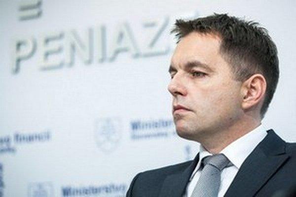 Peter Kažimír, guvernér Národnej banky Slovenska.
