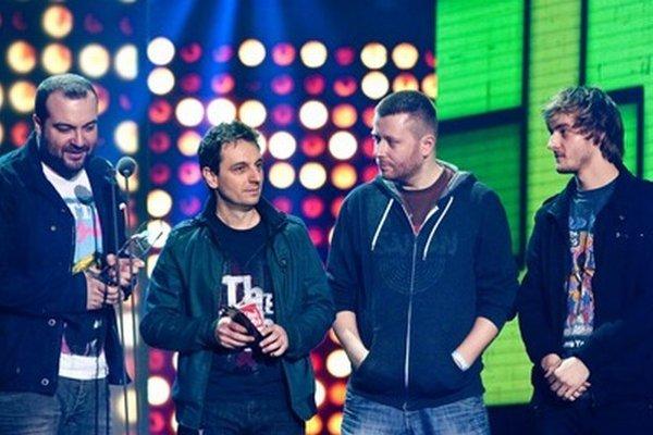 Členovia skupiny IMT Smile počas Slávika.