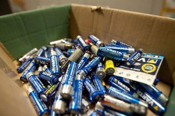 Zber použitých batérií máme vraj slabo podchytený v zákone.