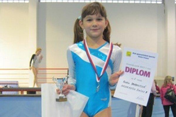 Kristína Drabantová získala pre GK Elán ďalší cenný kov.