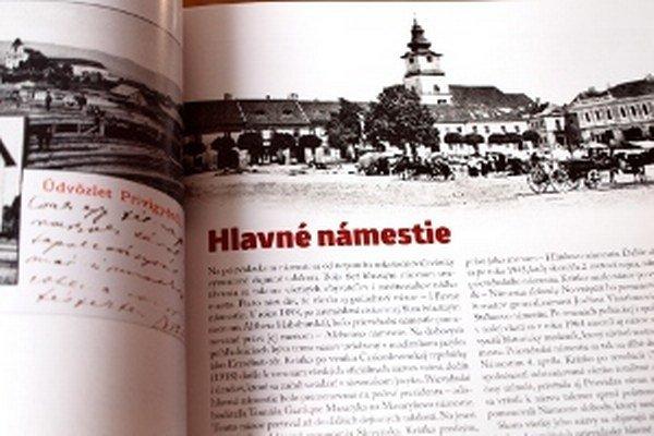 Nová publikácia ponúka nielen staré fotografie Prievidze, ale aj historické zaujímavosti.