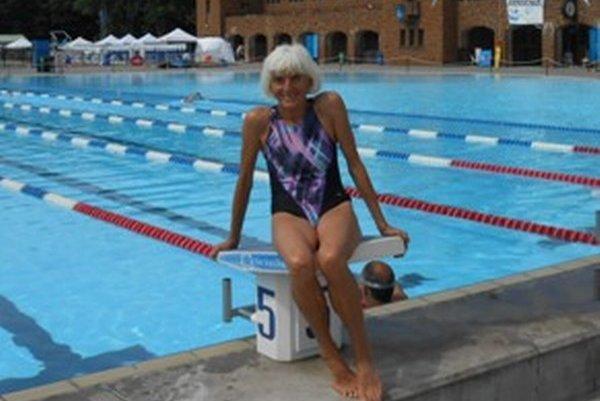Plávala na majstrovstvách sveta. Mária Hausnerová skončila deviata v znaku na 100 metrov.