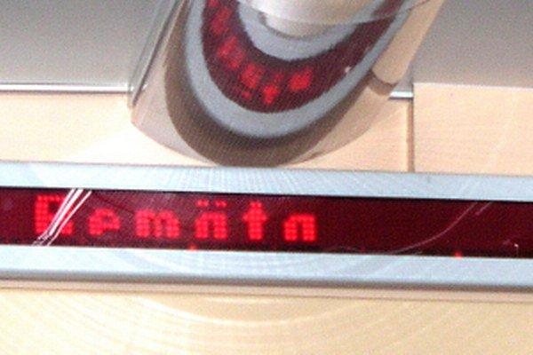 Takéto pomenovanie železnice používajú aj vo vlakoch.