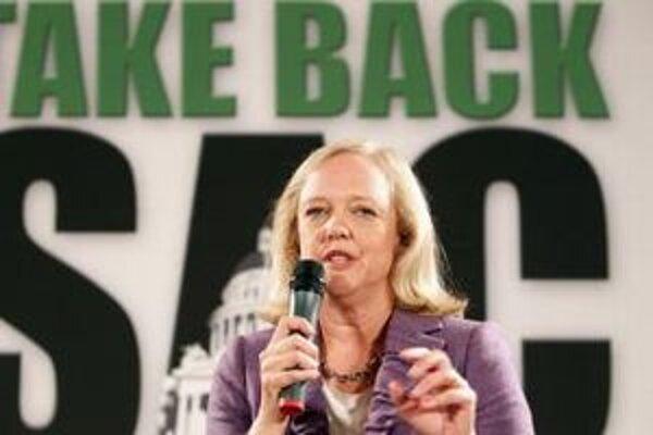 Meg Whitmanová kandidovala na guvernérku štátu Kalifornia.