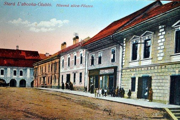 Stará Ľubovňa. Jej historické centrum.