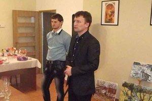 Organizátori. Jozefovia Bravis a Jendrichovský.