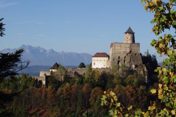 Hrad v Starej Ľubovni. Nájdete tu vzácnu relikviu.