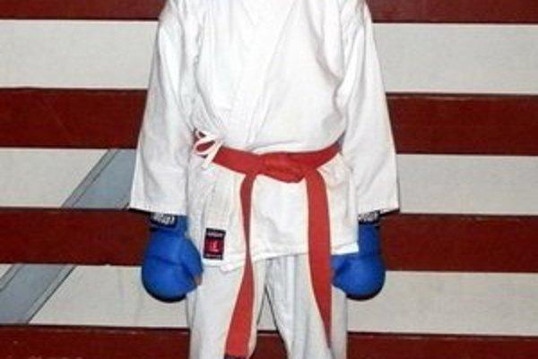 Vierka Kaletová sa venuje najmä karate.
