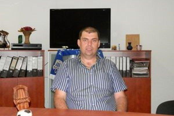 Ján Solecký. Prezident FK Plavnica.