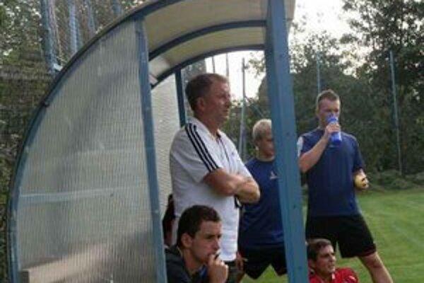 Peter Drobňák. Tréner si myslí, že si nezaslúžili prehrať.