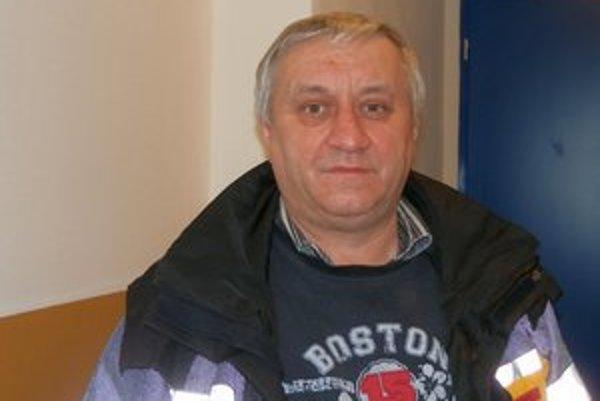 Pavol Gurega. Predseda športovej komisie je s dosahovanými výsledkami športu v Starej Ľubovni za posledné roky spokojný.