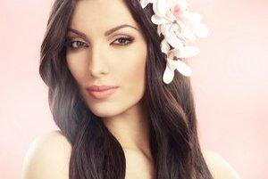 Dominika Rubeljová. Finalistka súťaže krásy Miss Universe.