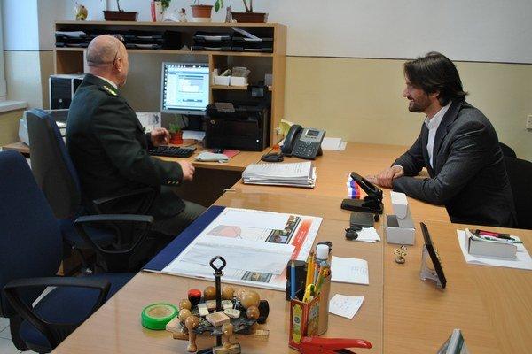 Služby centra si vyskúšal aj minister Kaliňák.